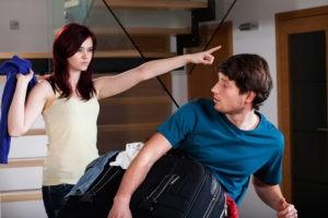 Выгнать мужа за измену