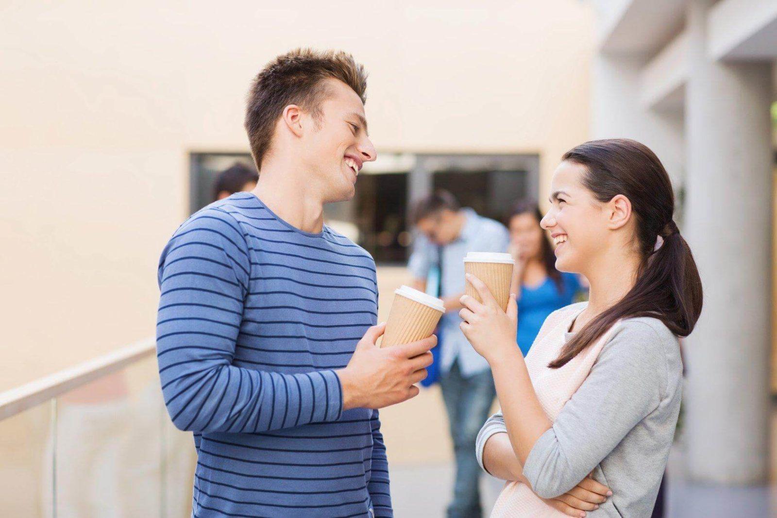 Как правильно начать случайный разговор