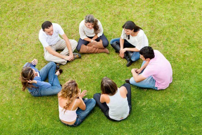 Общение с друзьями
