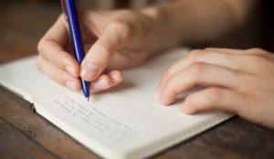 Написать письмо от руки