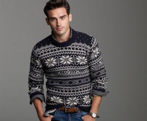 Теплый свитер для Стрельца