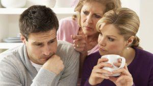 Родственники и их попытки влезть в семью