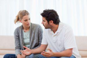 Откровенно поговорить с мужем