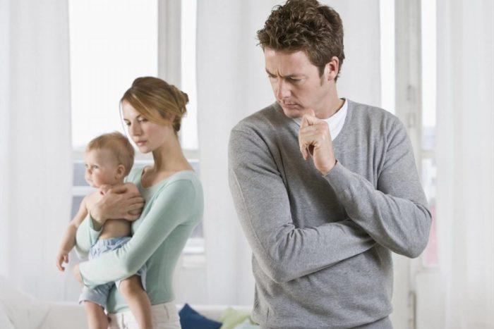 Кризис появления первого ребенка