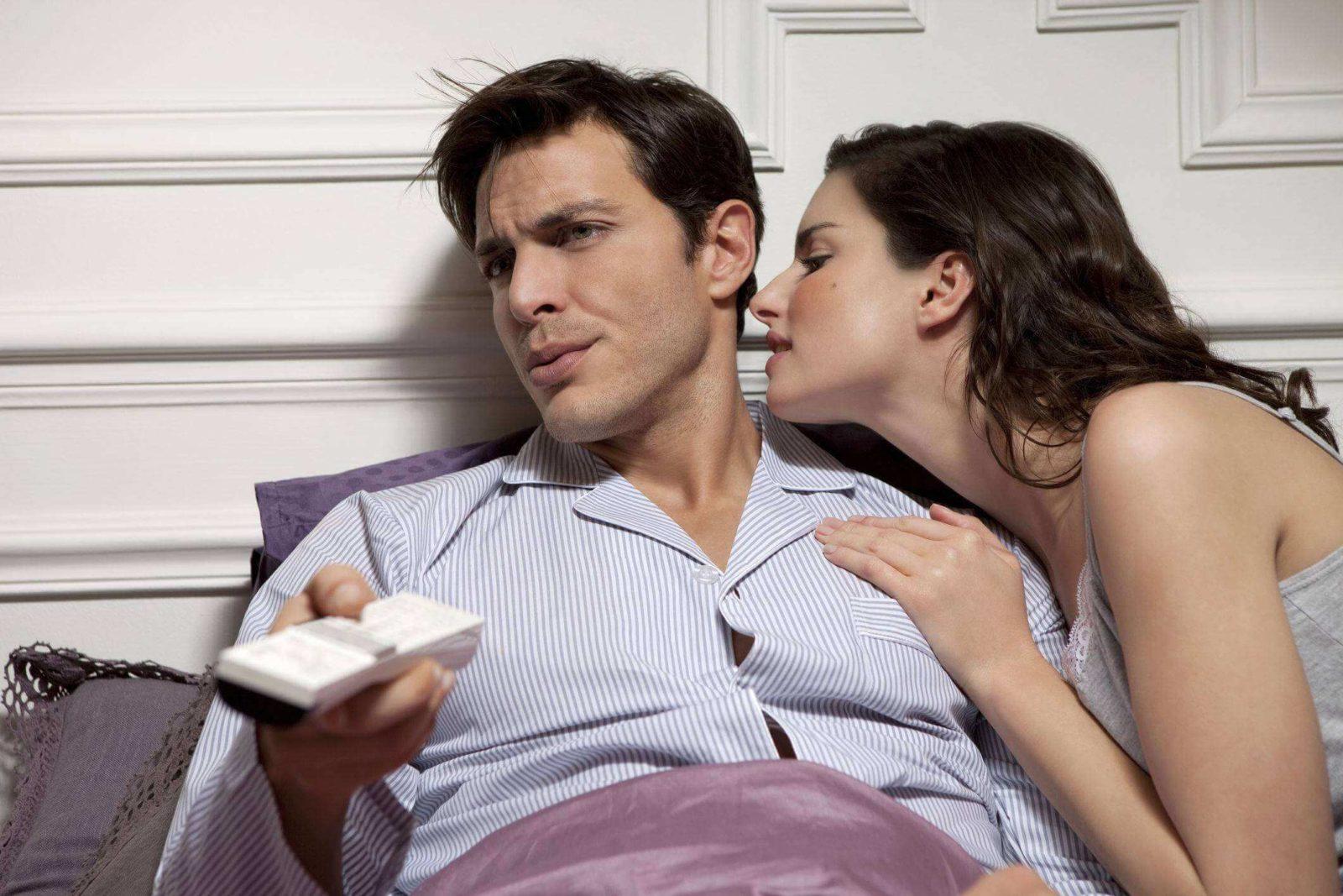 Муж не хочет близости с женой