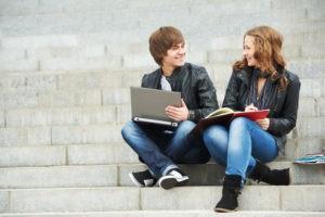 Общение на тему учебы