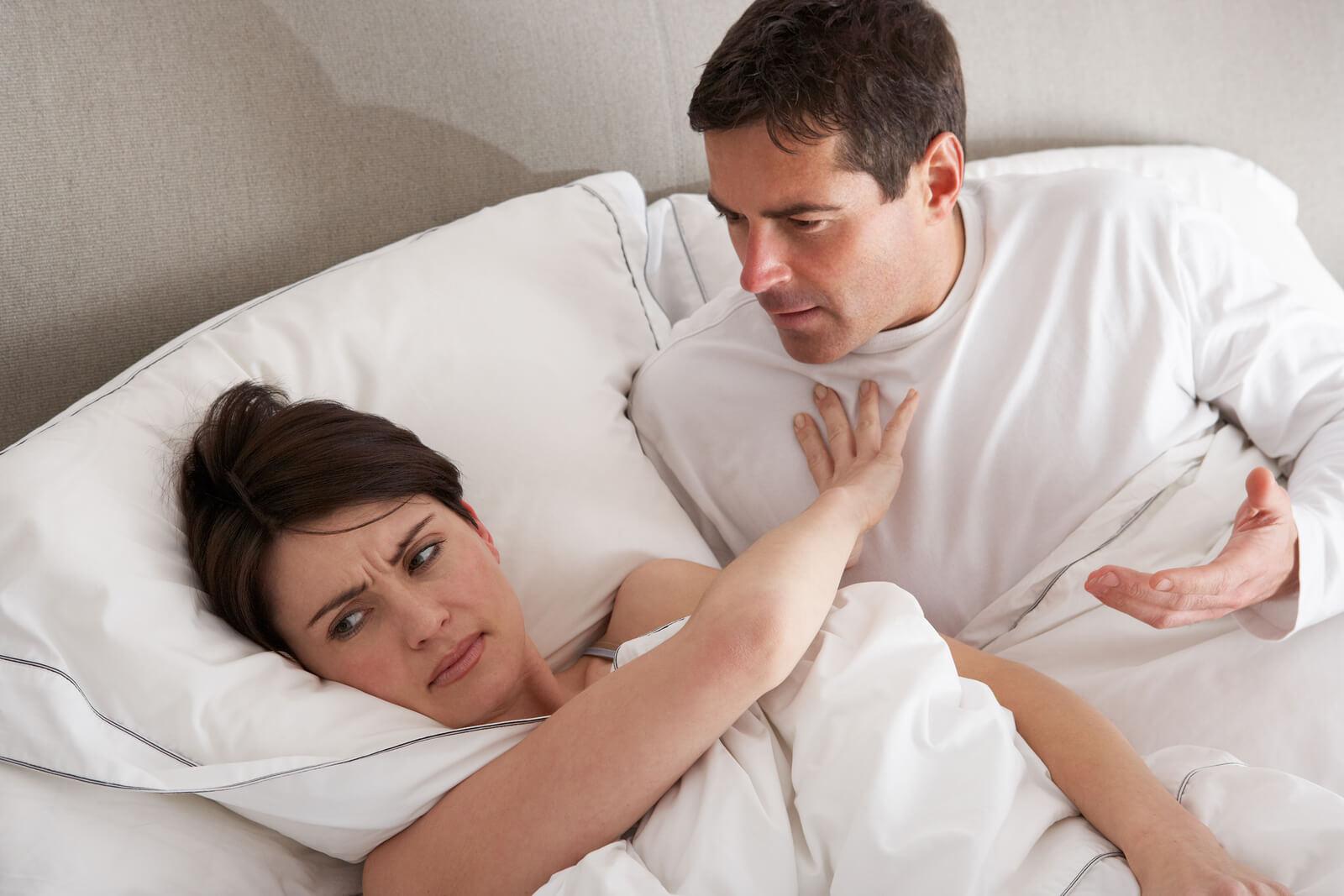 Жена не хочет близости с мужем