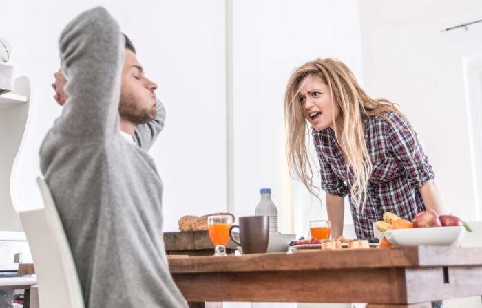Ссора с мужчиной-Тельцом