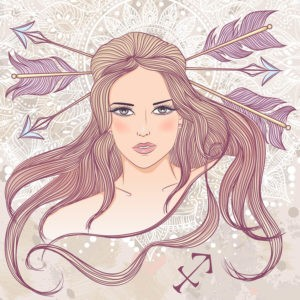 Девушка-Стрелец