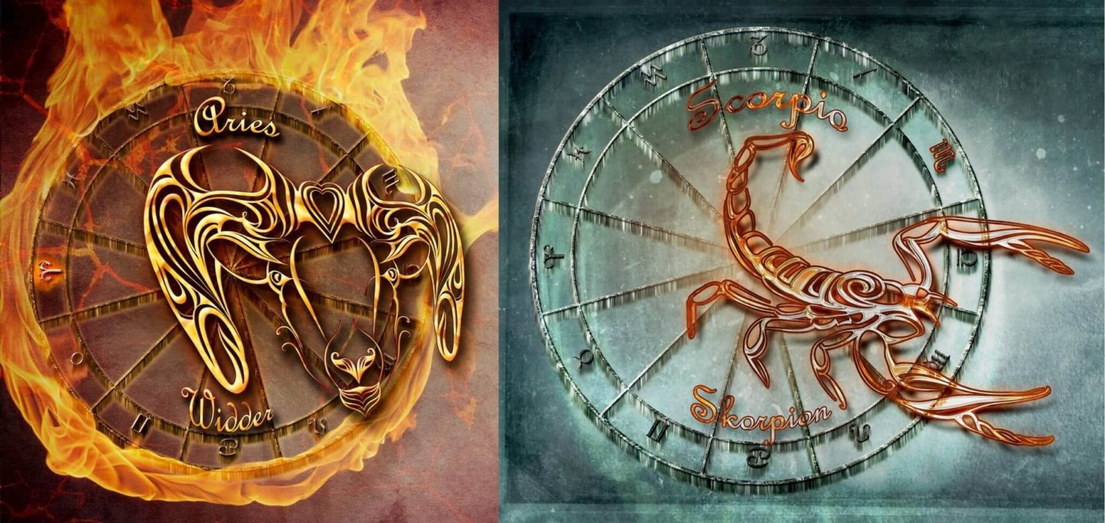 Овен и Скорпион – сценарий совместимости