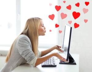 Признаться в любви в соцсети