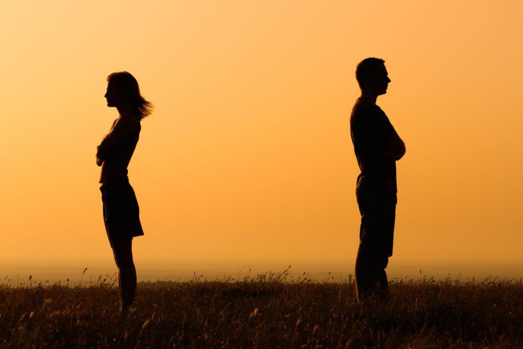 Конец отношений с женой