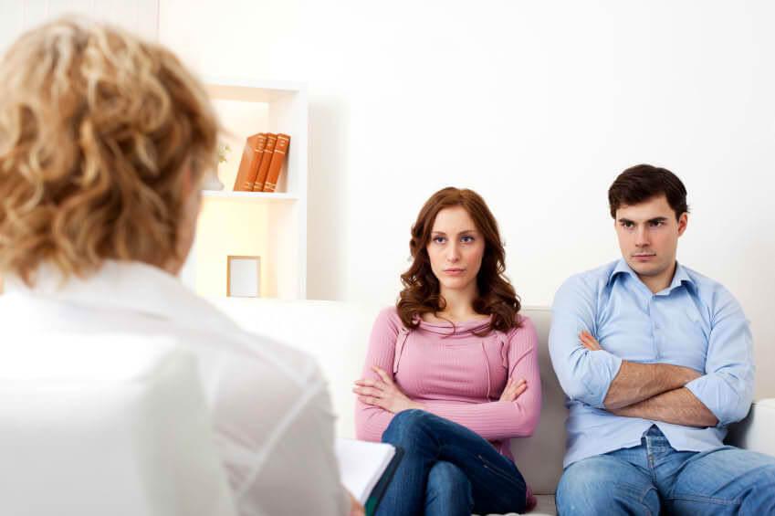 Помощь психотерапевта паре