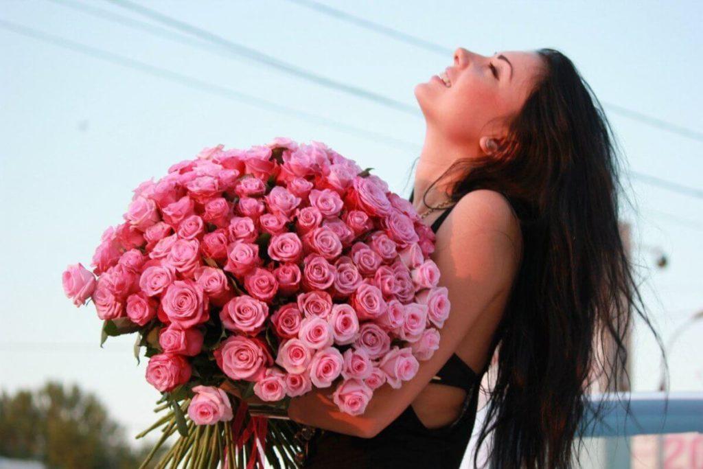 Сколько роз можно дарить возлюбленной