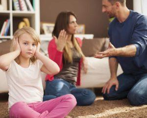 Ссоры в семье при ребенке