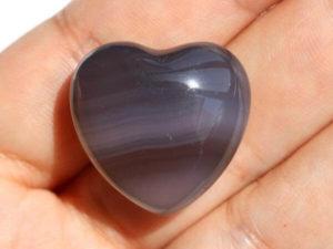 Сердце из агата