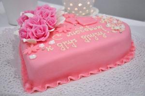 Торт на годовщину бракосочетания