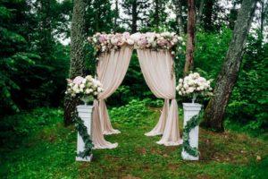 Формы свадебных арок