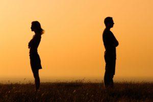 Расставание пары