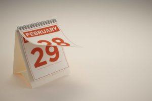 Календарь высокосного года