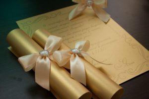 Оригинальные приглашения на свадьбу