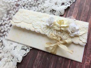 Приглашения на свадьбу скрапбукинг