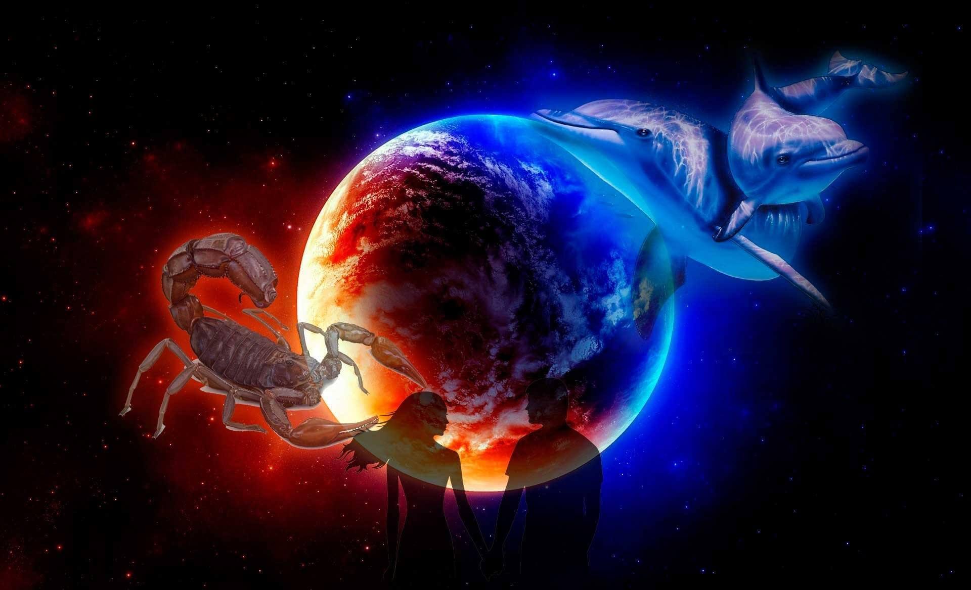 Совместимость Скорпиона и Рыб