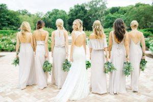 Наряды для подружек невесты