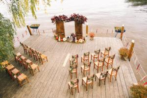Организация свадьбы у воды