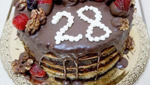 Торт на 28 лет свадьбы