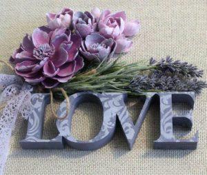 Символ лавандовой свадьбы