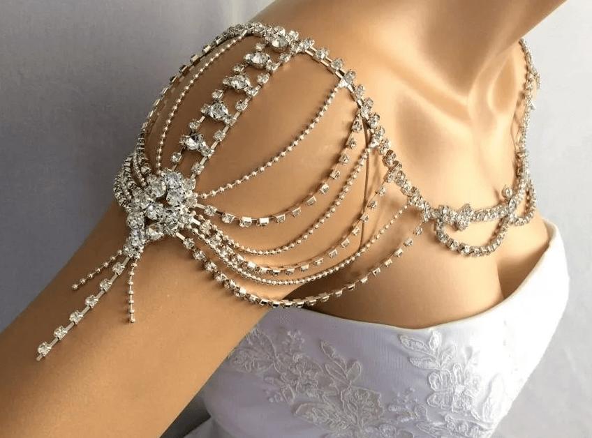 Бусы для невесты, вариант 2