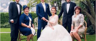 Роль родителей на свадьбе