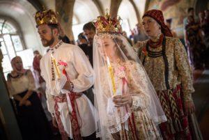 Венчание по русским традициям