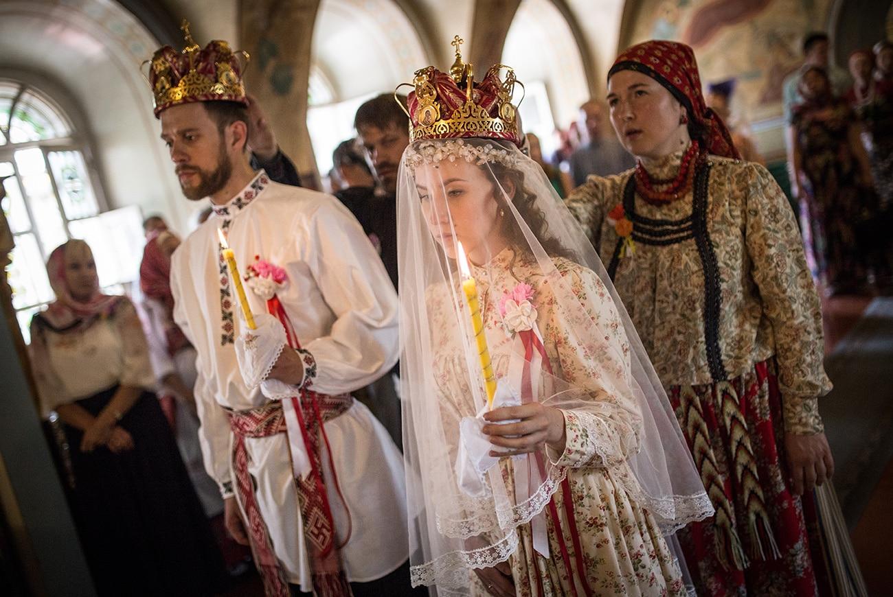 Картинки о русской свадьбе