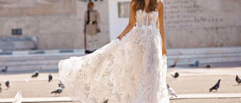 Свадебные платья 2020: тенденции и популярные модели