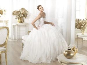 Популярные модели свадебных платьев