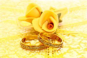 Особенности золотой свадьбы