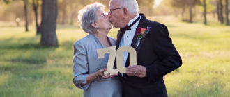 70 лет со дня свадьбы