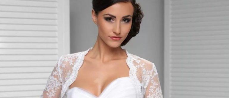 Болеро для невесты