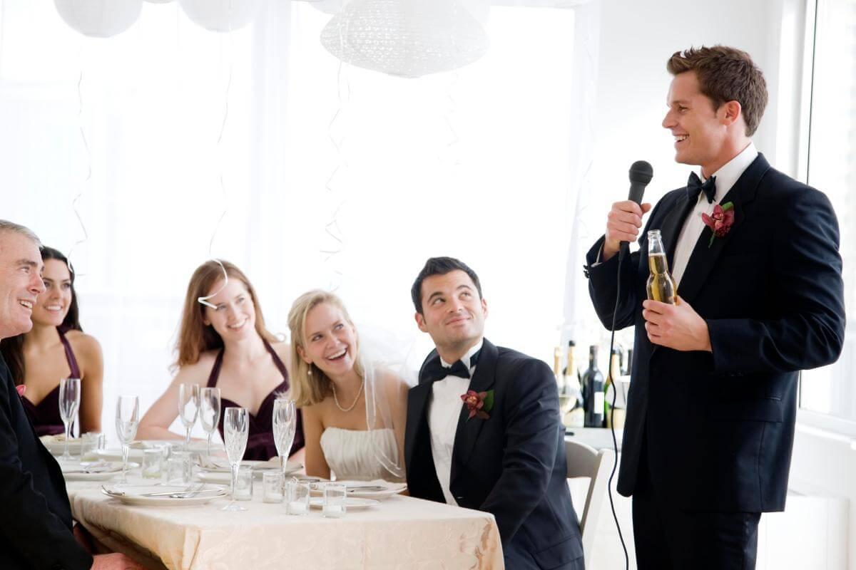 тост от свидетельницы на свадьбе прикольные книжку