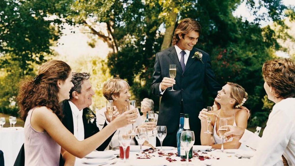 Благодарность родителям за невесту