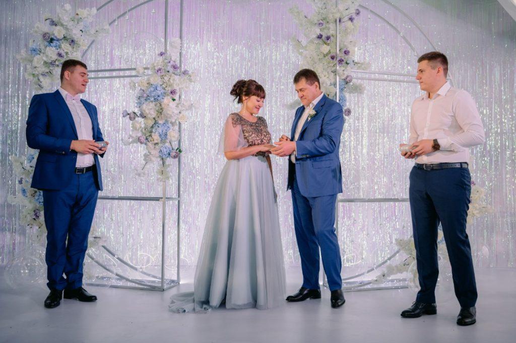 Празднование жемчужной свадьбы