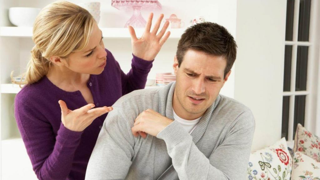 Ссора с мужчиной-Скорпионом