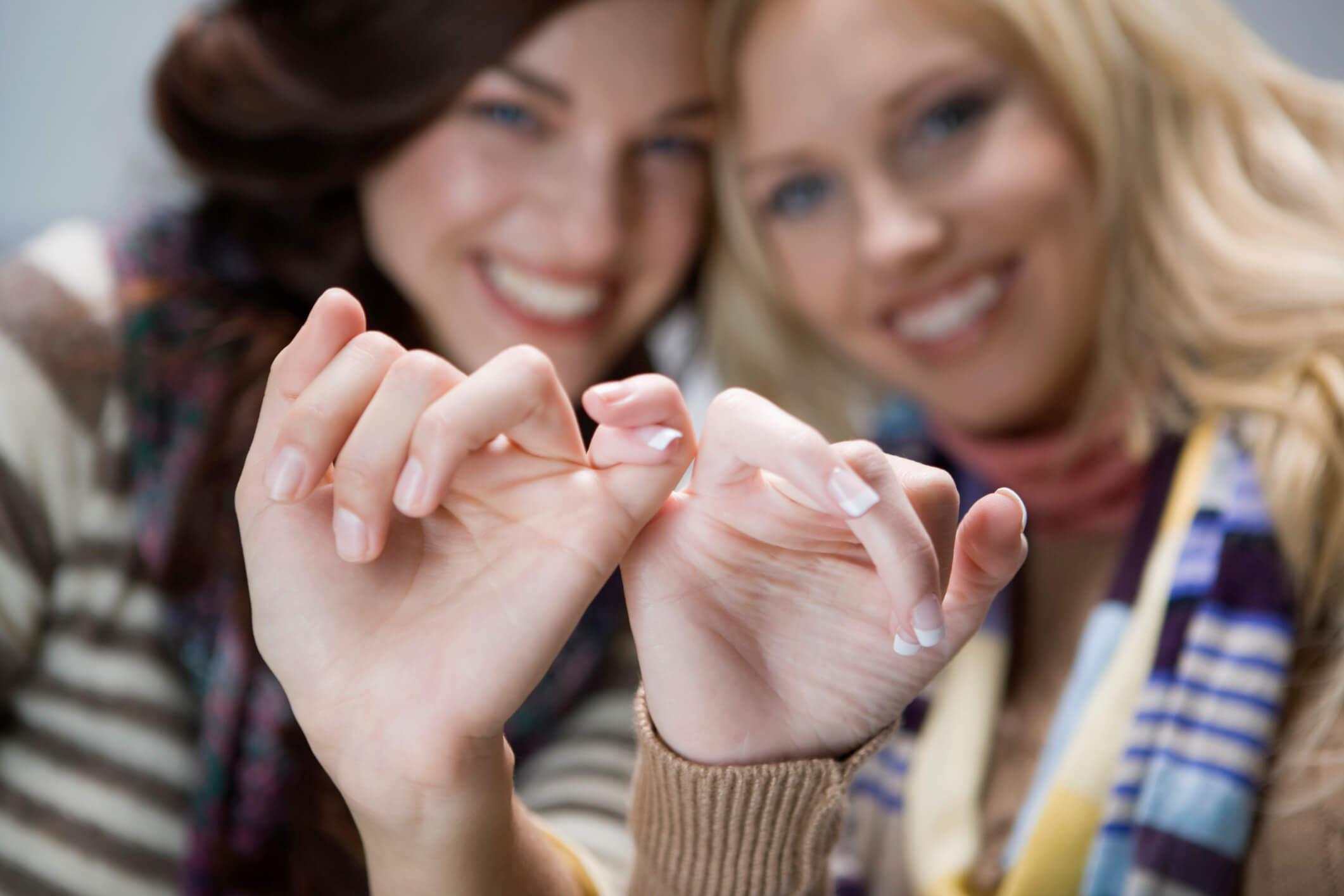 Как помириться с лучшей подругой